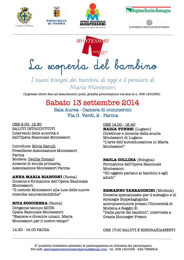 Convegno Parma 13 Settembre