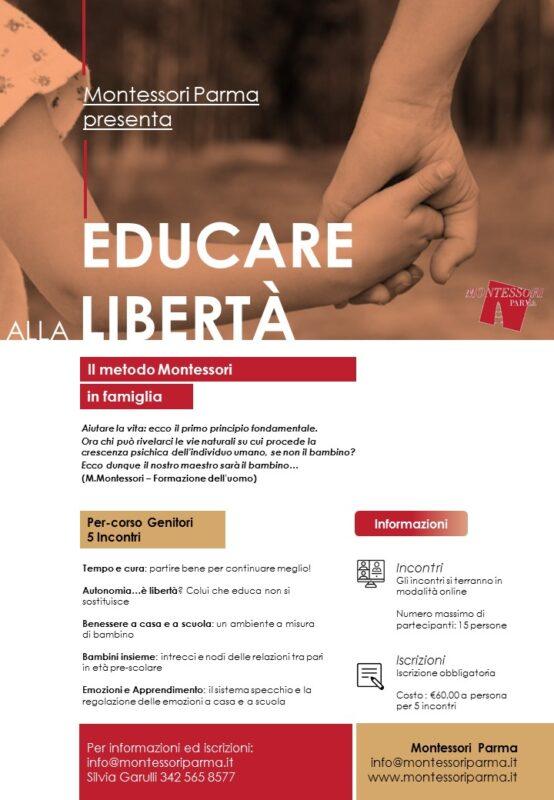 Montessori-Parma-corso-genitori-famiglia-educazione-libertà-bambini-formazione-consulenza-incontri